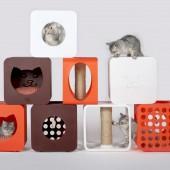 Kitty Kasa modularni namještaj za mačke