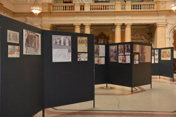 Postav izložbe u Pomoskom i povijesnom muzeju Hrvatskog primorja