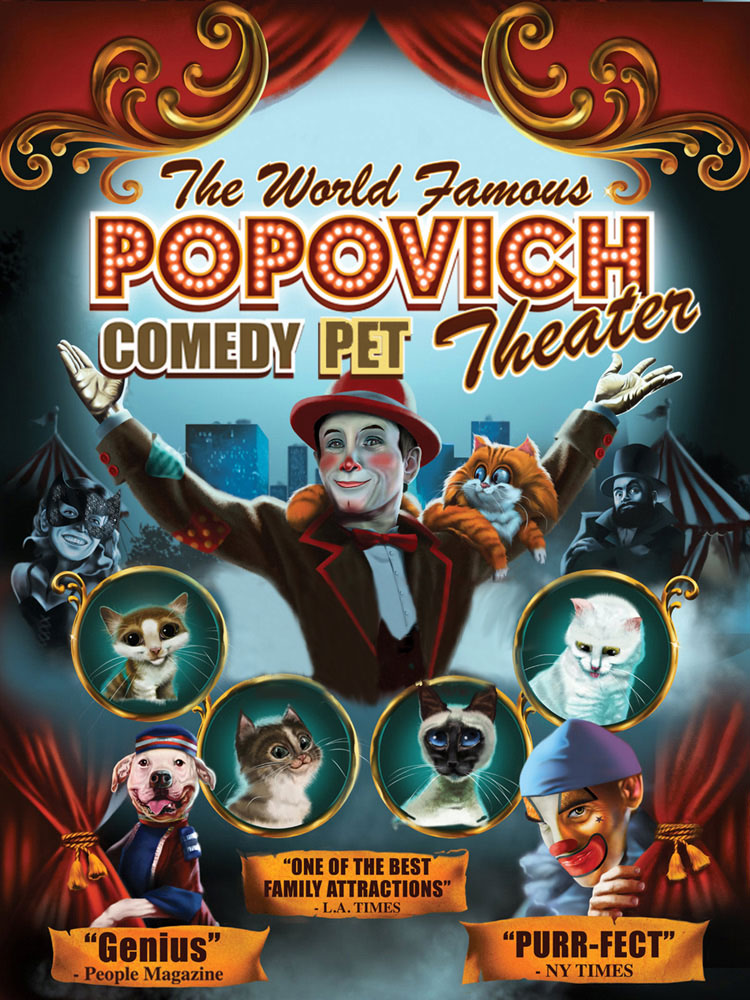Upoznajte Gregory Popovich Comedy Pet Theater!