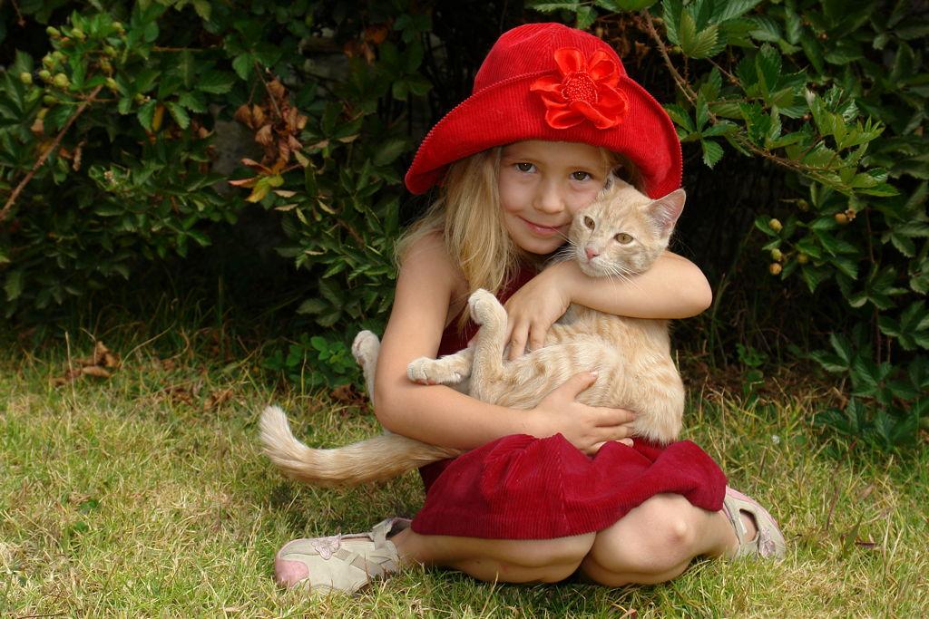 Kako mačke djecu uče odgovornosti