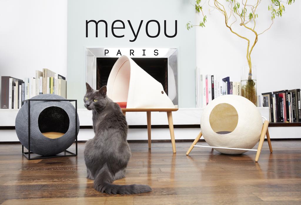 Elegantne kuće za mačke u obliku kugle