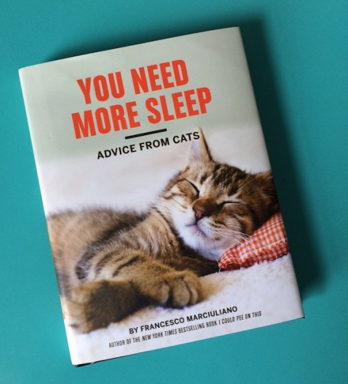 "Knjiga You Need More Sleep"""