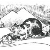 Yule mačka