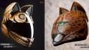 Zaštitne kacige u obliku mačje glave