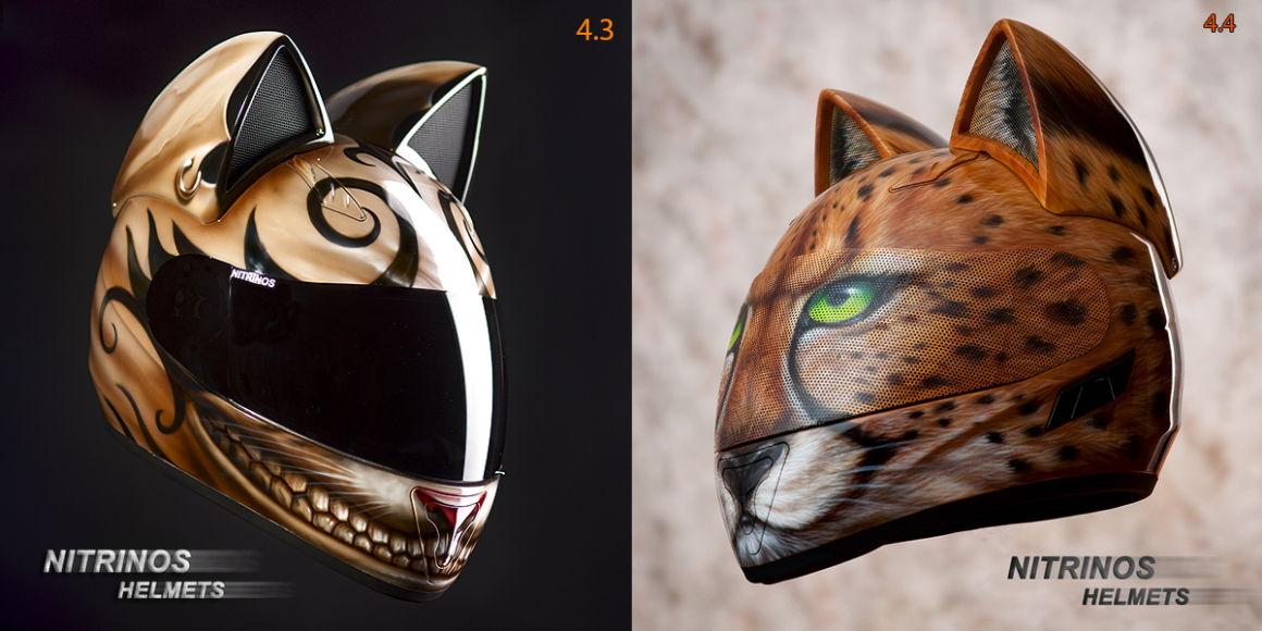 Kacige u obliku mačke