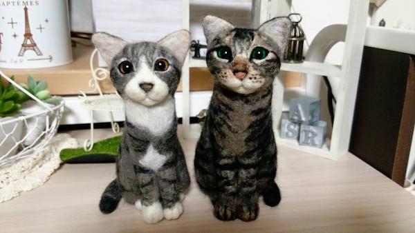 Japanske mačke of filca