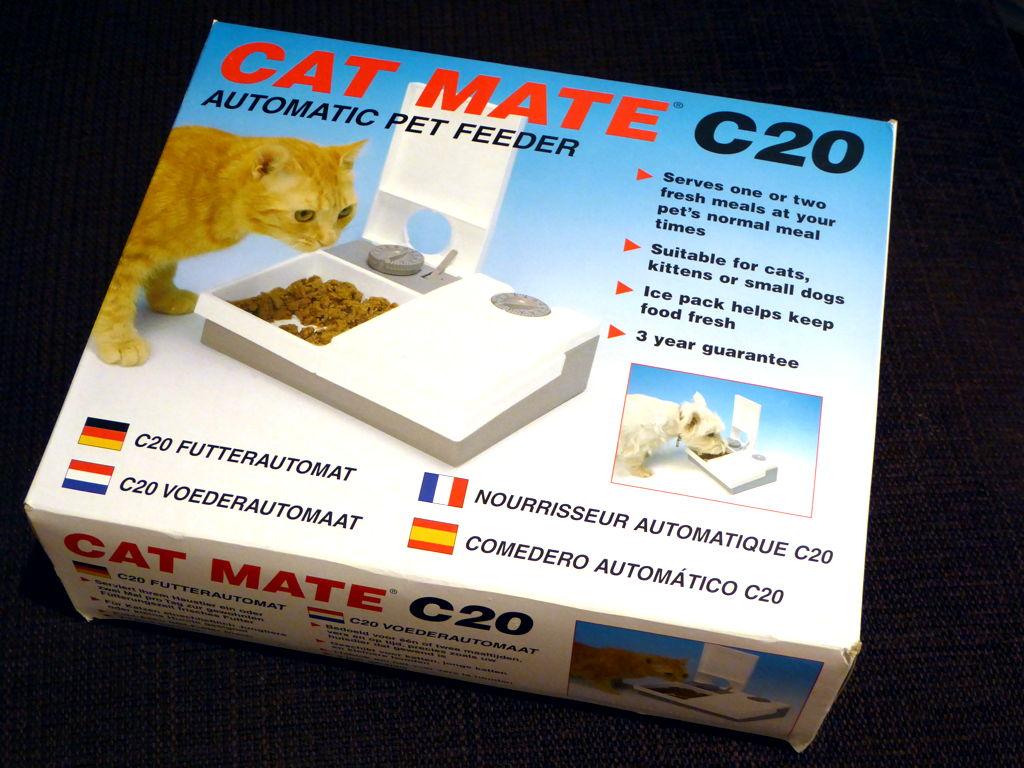 Testirali smo: automatska hranilica Cat Mate C20