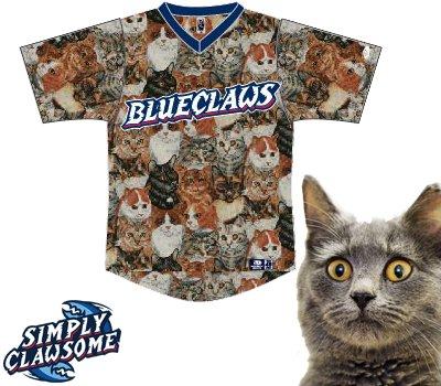 Bejzbolski tim ima majice totalno prekrivene mačkama!