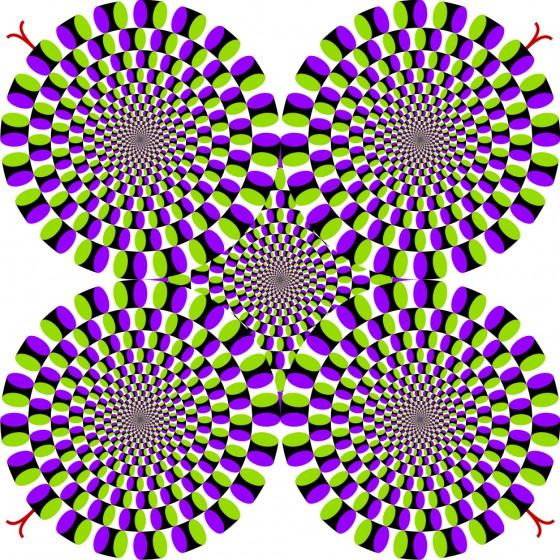 Iluzija rotirajućih zmija